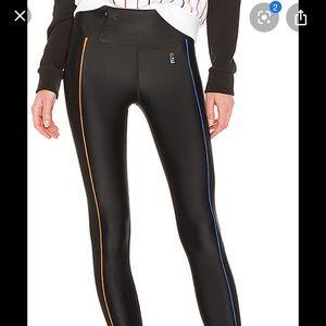 PE P.E. nation haymaker black slick leggings sz M